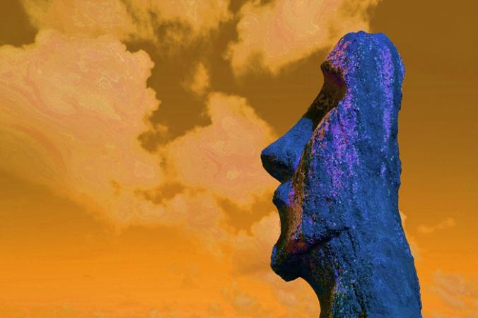 700 Easter Island Head