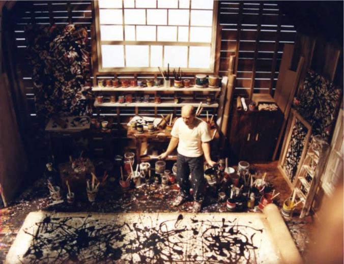 700 Jackson_Pollock_studio,_ca._1950,_Springs,_Long_Island,_NY