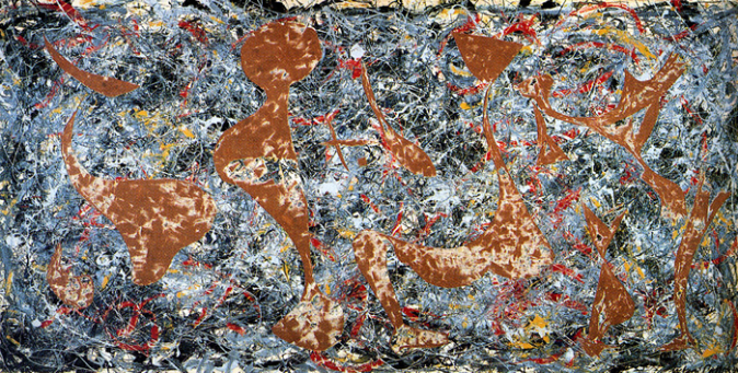 700 Jackson Pollock - Out Of The Web - the right way up.fw