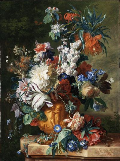 Jan Van Huysum 1754 Bouquet_of_Flowers_in_an_Urn2.fw