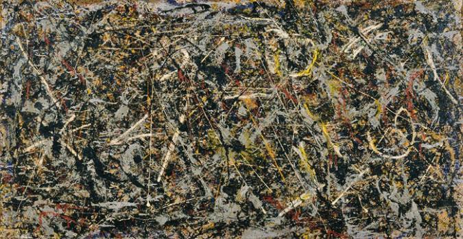 Alchemy by Jackson Pollock, 1947.fw
