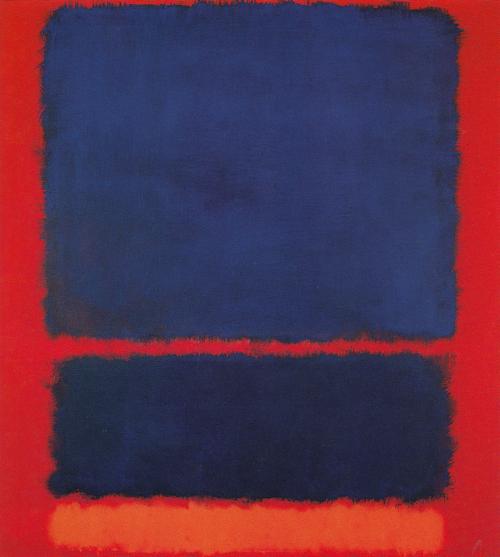Blue, Orange, Red 1961 by Mark Rothko, 1961.fw