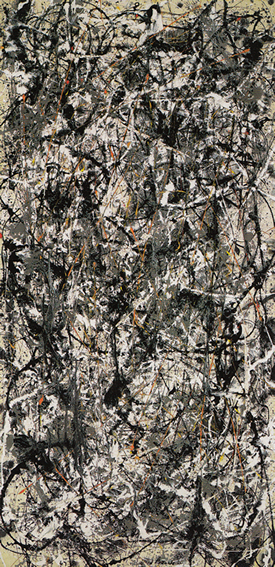 Cathedral by Jackson Pollock, 1947.fw