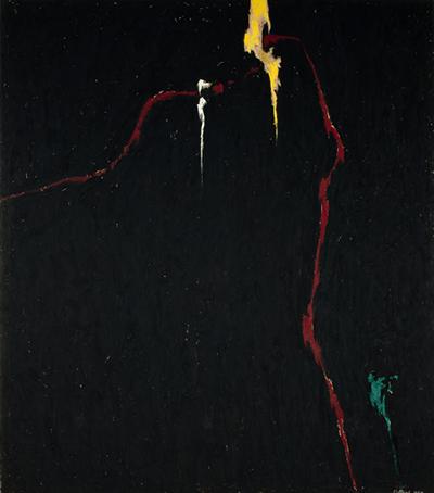 Clyfford Still, 1944-N No.1 (PH-235), 1944
