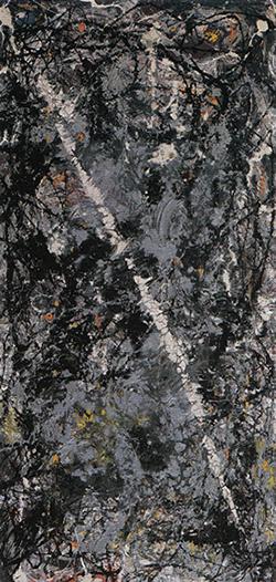 Comet by Jackson Pollock, 1947.fw