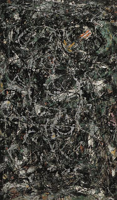 Full Fathom Five by Jackson Pollock, 1947.fw