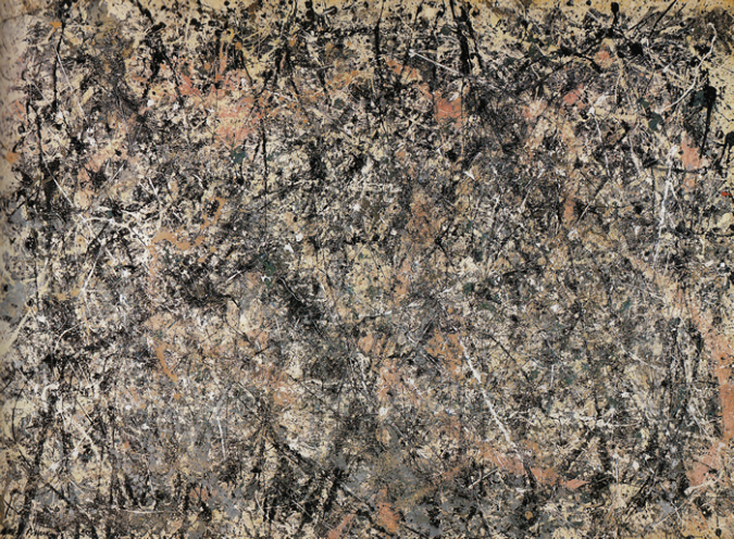 Lavender Mist- Number 1, 1950 by Jackson Pollock, 1950 .fw