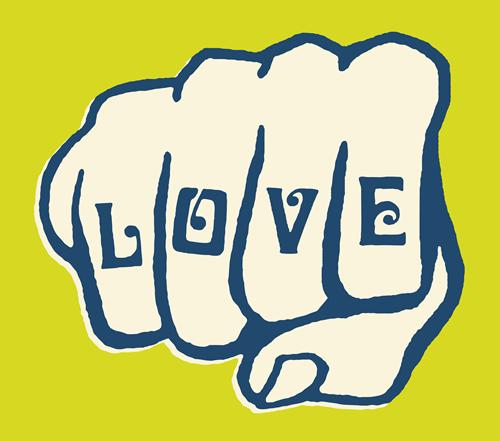 Love fist.fw