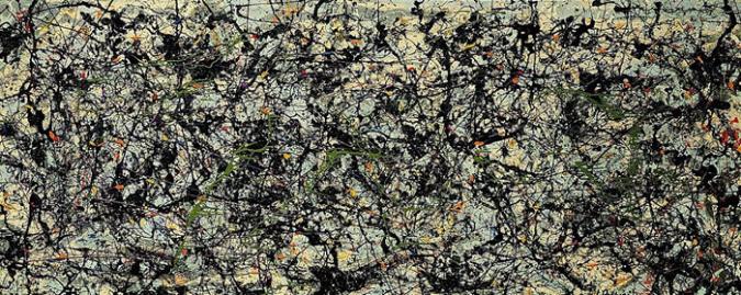 Lucifer by Jackson Pollock, 1947.fw