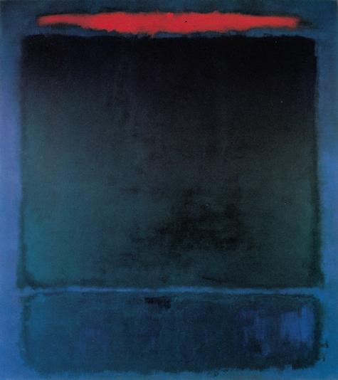 No. 118 1961 by Mark Rothko, 1961.fw