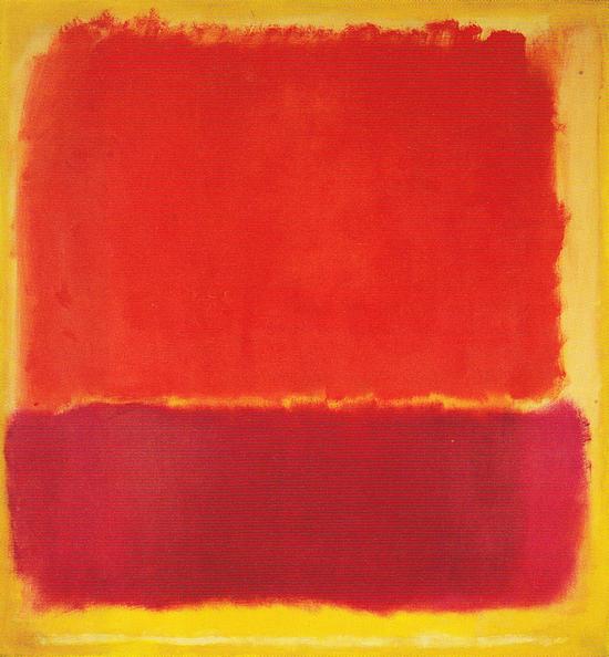 No. 12 1951 by Mark Rothko, 1951.fw