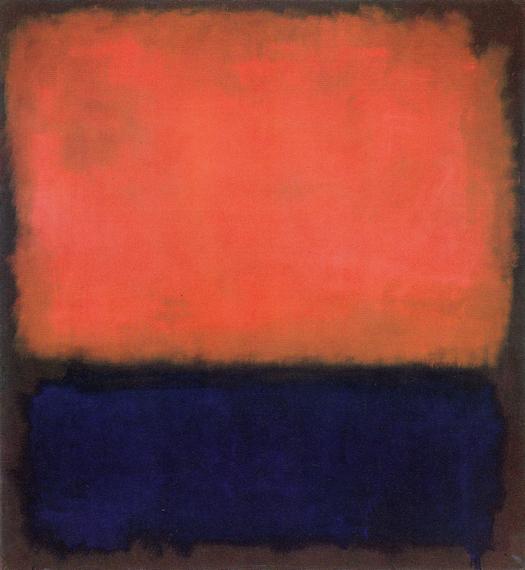 No. 14 1960 by Mark Rothko, 1960.fw