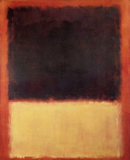 No. 203 (Red, Orange, Tan and Purple) 1954 by Mark Rothko, 1954.fw