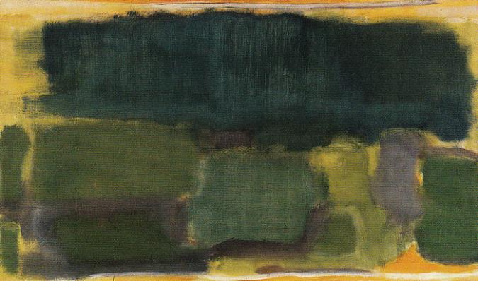 No. 4 - No. 32 1949 by Mark Rothko, 1949.fw