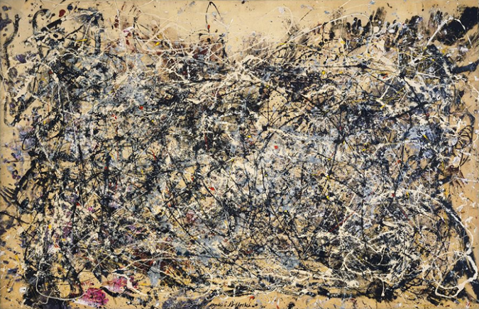 Number 1, 1948 by Jackson Pollock, 1948.fw
