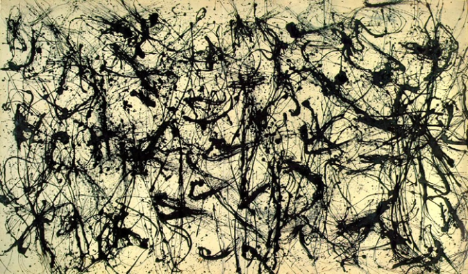 Number 32, 1950 by Jackson Pollock, 1950.fw