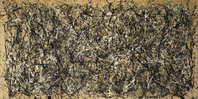 One, Number 31, 1950 by Jackson Pollock, 1950.fw