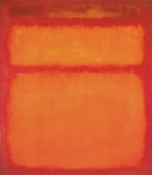 Orange, Red, Yellow 1961 by Mark Rothko, 1961.fw