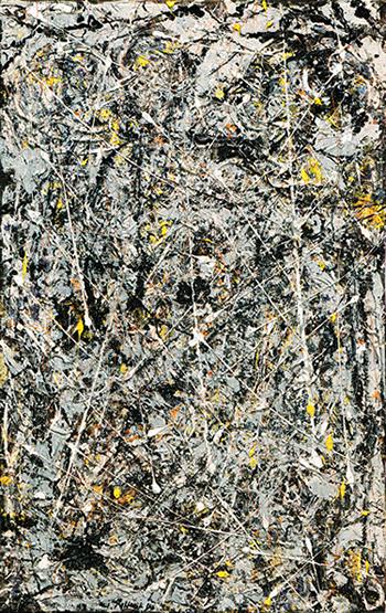 Phosphorescence by Jackson Pollock, 1947.fw