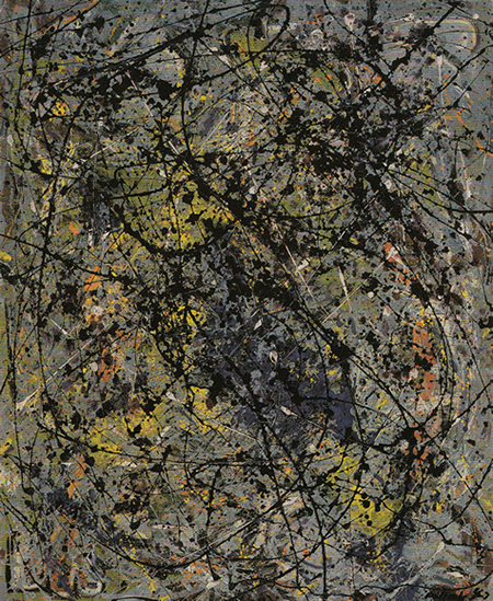 Reflection of the Big Dipper by Jackson Pollock, 1947.fw