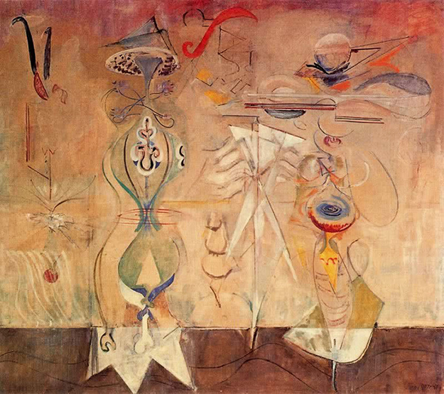 Slow Swirl at the edge of the sea by Mark Rothko, 1945.fw