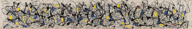 Summertime- Number 9A, 1948 by Jackson Pollock, 1948.fw