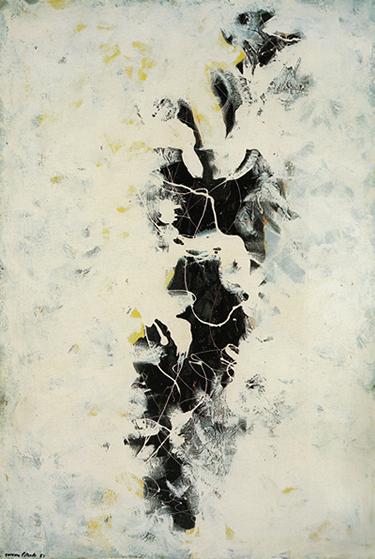 The Deep by Jackson Pollock, 1953.fw