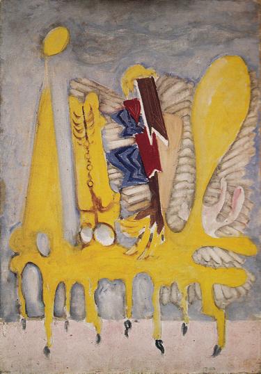 The Syrian Bull by Mark Rothko, 1943.fw