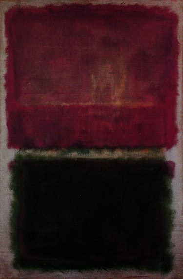 Untitled (Lavender and Green) 1952 by Mark Rothko, 1952.fw